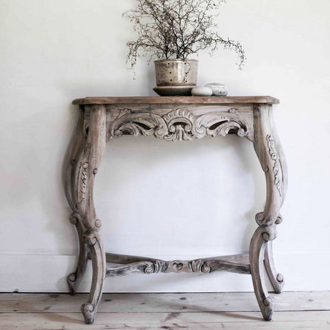 Igigi Carved Console Table