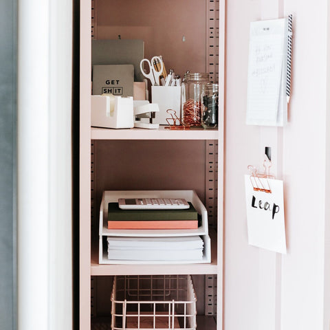 The Skinny Locker in Blush