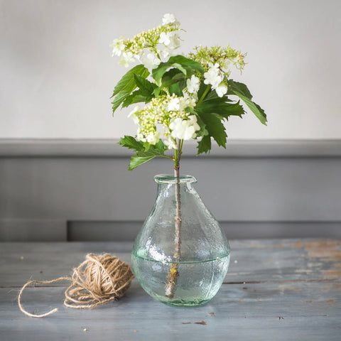 Teardrop Recycled Vase