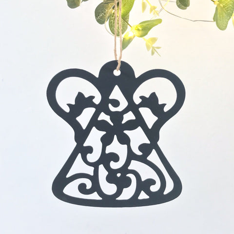 Filigree Angel Tree Decoration