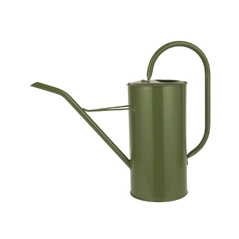Tall Olive Green Indoor Watering Can