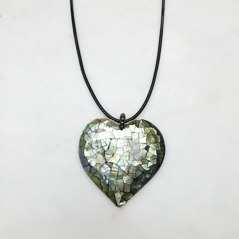 Shell Heart Necklace