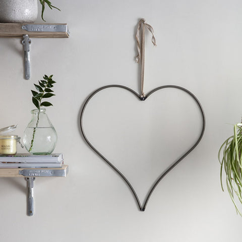 Steel Heart Decoration