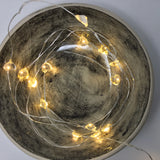 Indoor Micro Heart LED String 20 Lights