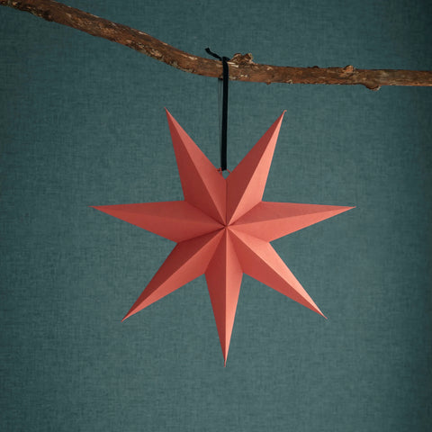 Brick Paper Star Decoration 45cm