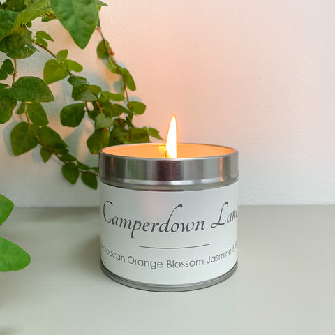 Camperdown Lane Moroccan Orange Blossom, Jasmine and Basil Candle