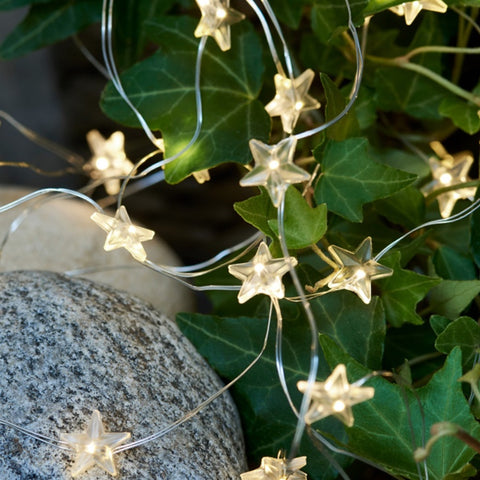 Indoor Star LED String 40 Lights