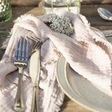 Pair of Rose Double Weave Napkins