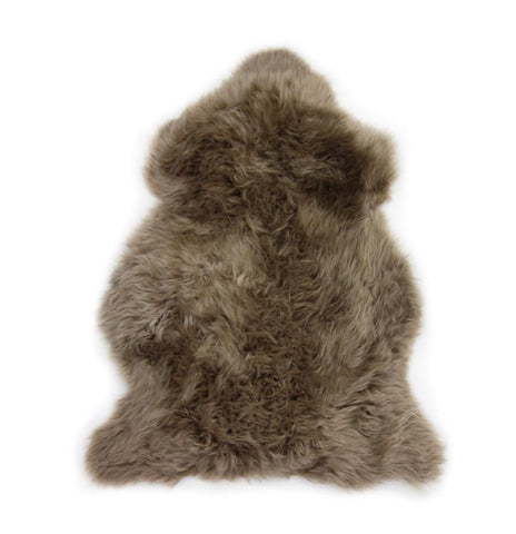 Single Sheepskin in Taupe