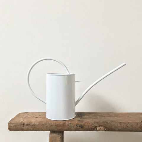 White Indoor Watering Can