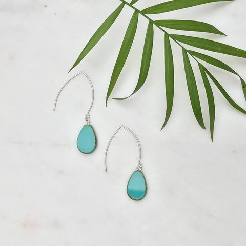 Picasso Turquoise Drop Earrings