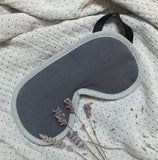 Lavender Eye Mask in Charcoal Grey