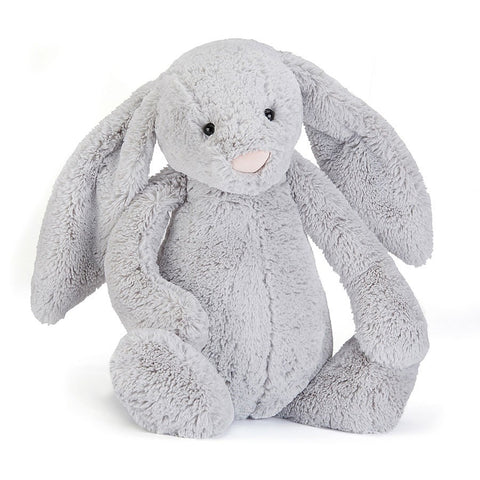 Jellycat Huge Bashful Bunny in Silver Grey
