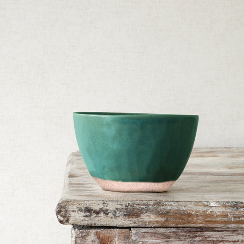 Dassie Artisan Ceramic Nibbles Bowl in Courgette