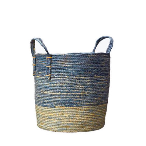 Blue Tonal Basket Large