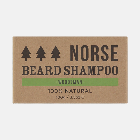 Woodsman Beard Shampoo Bar