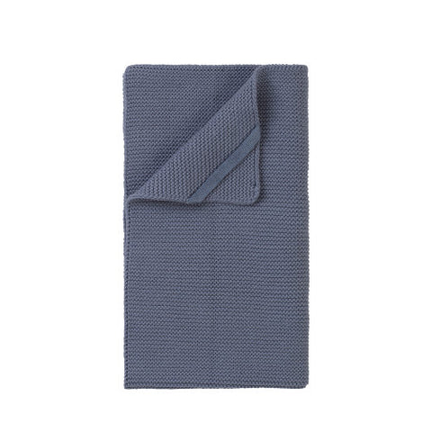 Textured Hand Towel - Denim