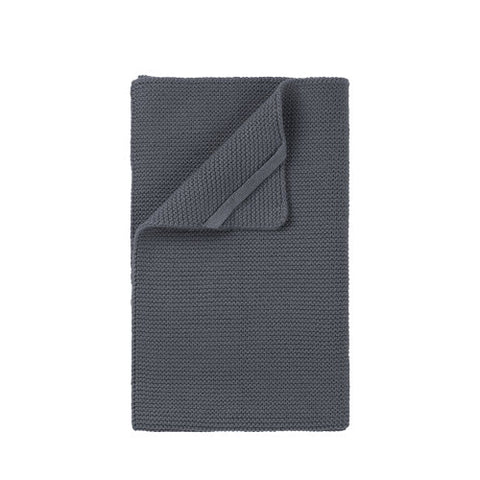 Textured Hand Towel - Charcoal