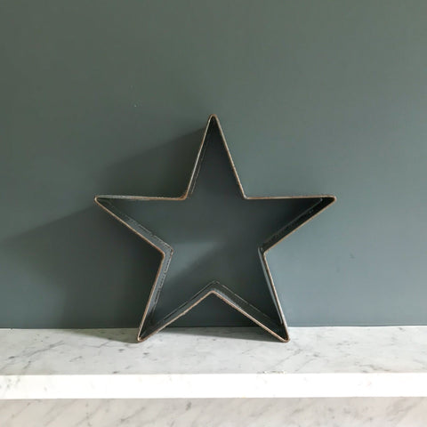 Corrugated Metal Star - Small