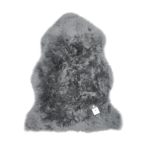 Single Sheepskin in Mid Grey