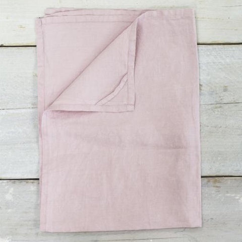 Linen Teatowel in Blush