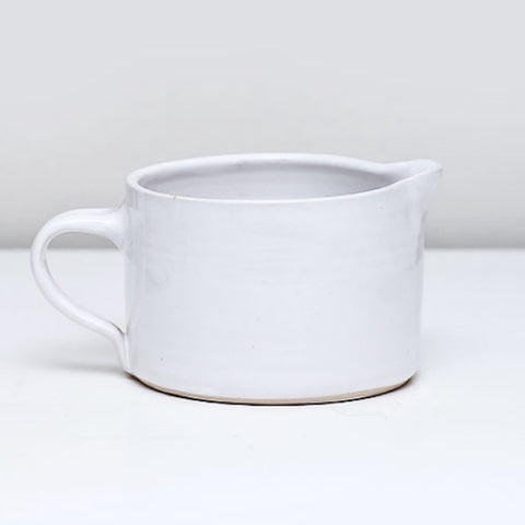Wonki Ware Custard Jug in White