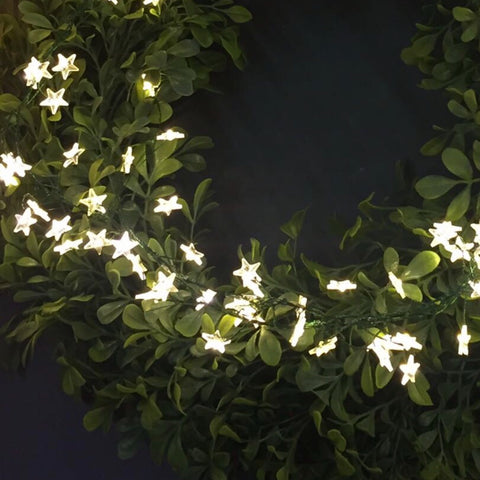 Outdoor Micro Star LED String 40 Lights