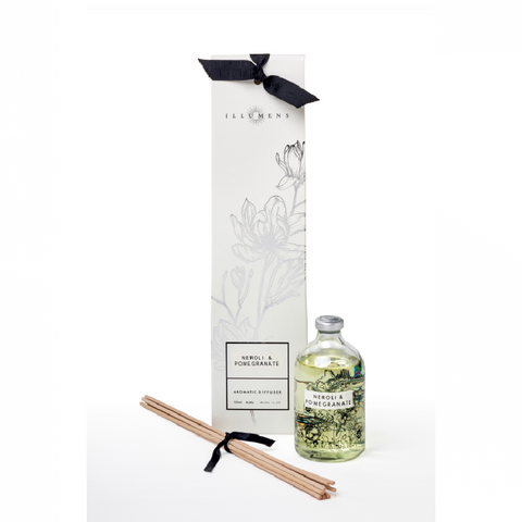Aromatic Reed Diffusers - Neroli and Pomegranate