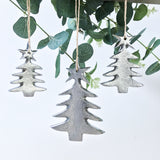 Nickel Christmas Tree Small