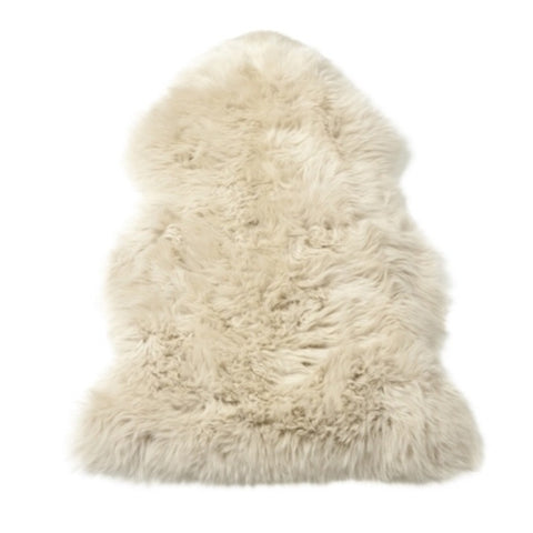 Single Sheepskin in Oyster
