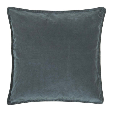 Velvet Cushion in Historical Blue