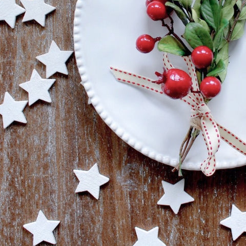 Wooden Scatter Star Table Decorations