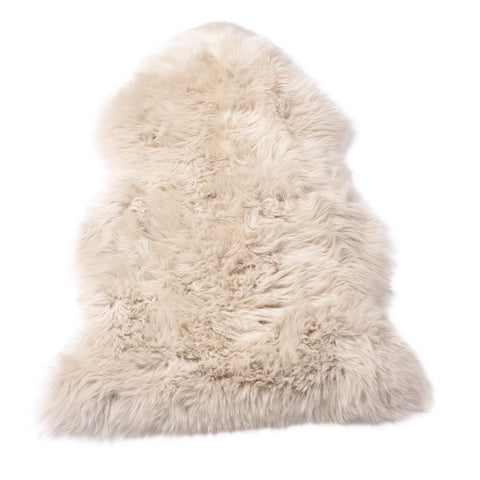 Single Sheepskin in Oyster Blush