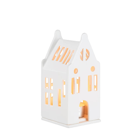 Mini Porcelain Light Up House Style 2