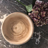 Natural Wood Bowl