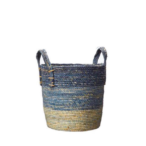 Blue Tonal Basket Medium
