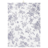 Blue and White Floral Teatowel