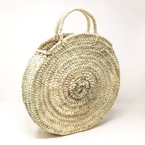 Rund Straw Bag