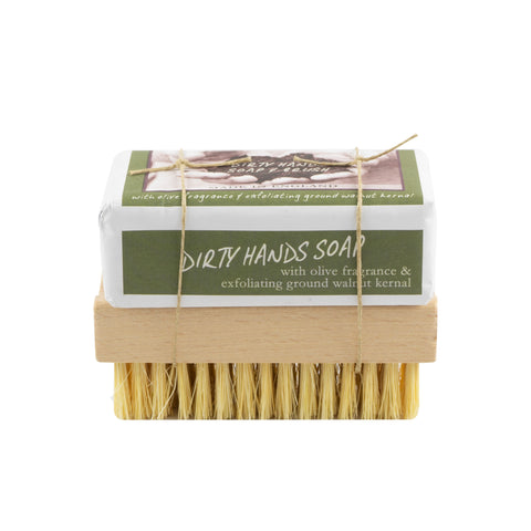 Dirty Hands Soap and Brush