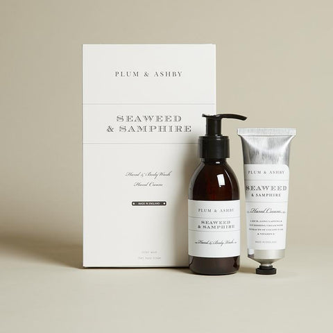 Seaweed and Samphire Wash and Handcream Gift Set