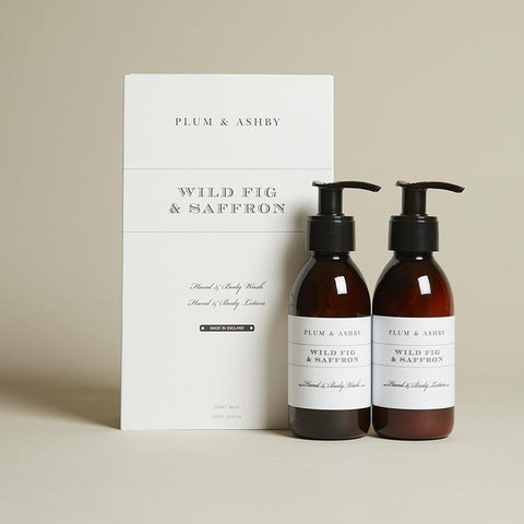 Wild Fig and Saffron Wash and Lotion Gift Set