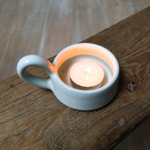 Handmade Ceramic Tealight Holder