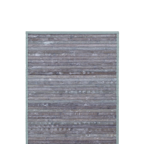 Bamboo Mat in Light Grey