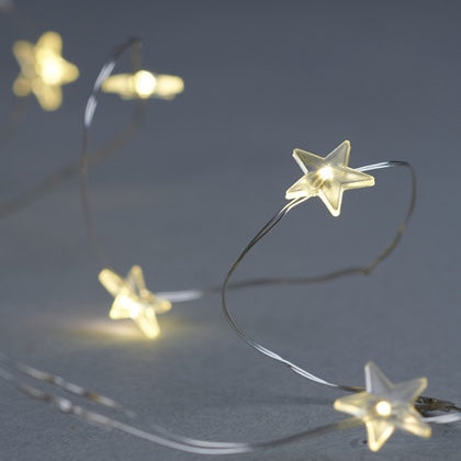 Indoor Star LED String 20 Lights