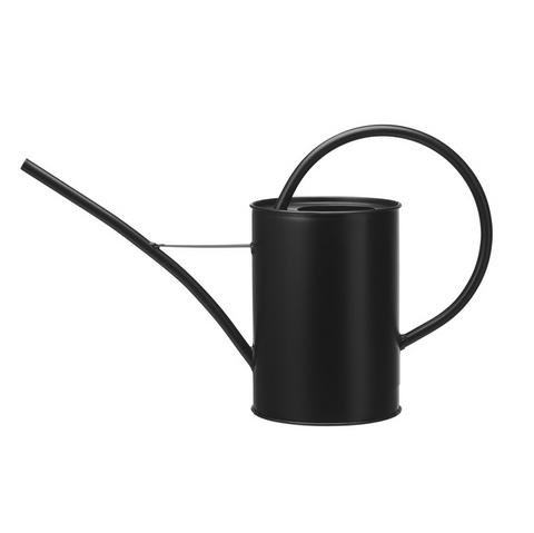 Black Indoor Watering Can