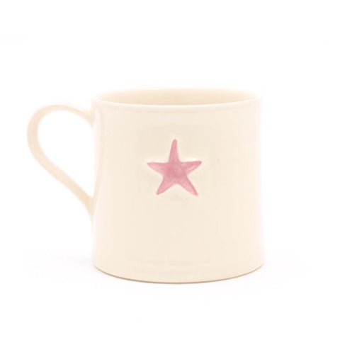 Mini Pink Star Mug 150ml