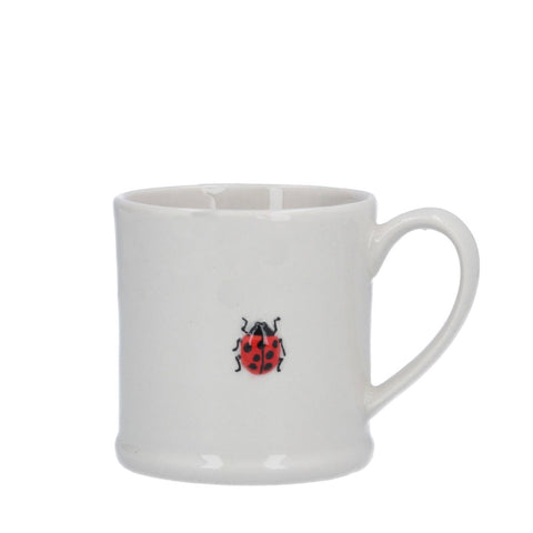 Mini Ceramic Mug with Ladybird
