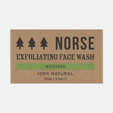 Woodsman Exfoliating Facewash Bar
