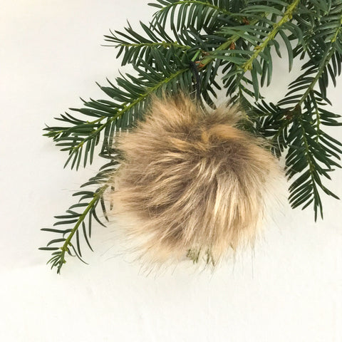 Tawny Fluffy Bauble