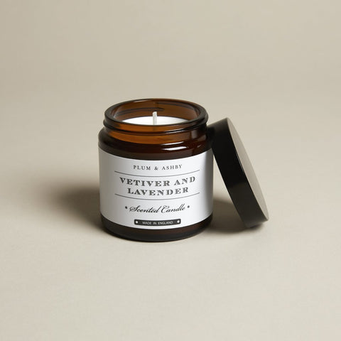 Plum & Ashby Jar Candle - Vetiver & Lavender